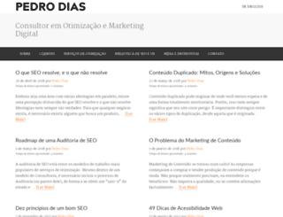 pedrodias.net screenshot