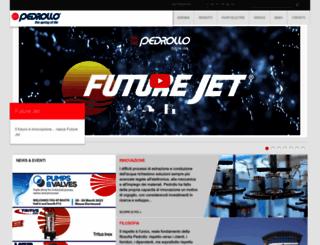 pedrollo.com screenshot
