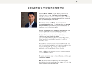 pedrorobledo.com screenshot