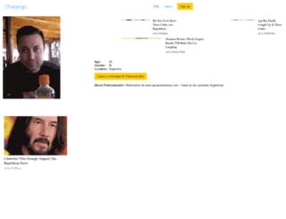 pedrosalvador.chatango.com screenshot