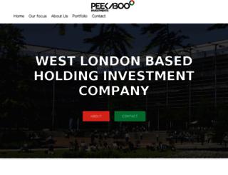peekabooinvest.com screenshot