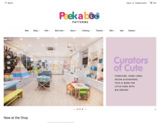 peekaboopatterns.com screenshot
