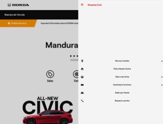 peelhonda.com.au screenshot