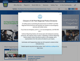 peelpolice.on.ca screenshot