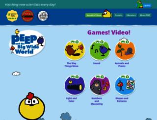 peepandthebigwideworld.com screenshot