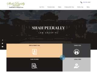 peerallylaw.com screenshot