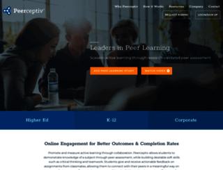 peerceptiv.com screenshot