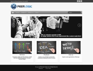 peerlogicsys.com screenshot
