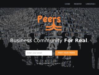 peersglocal.com screenshot
