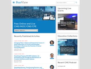 peerviewpress.com screenshot