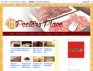 peetersplace.com.br screenshot