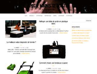 peg2mains.com screenshot
