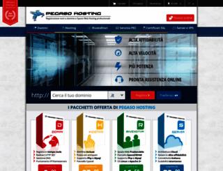 pegasohosting.net screenshot