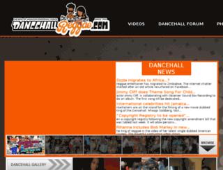 pegasus.dancehallreggae.com screenshot