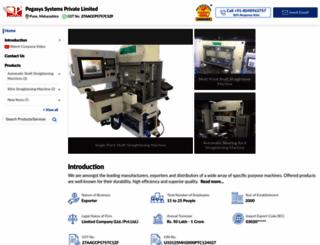 pegasyssystems.in screenshot
