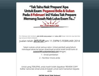 pegawaibelia.com screenshot