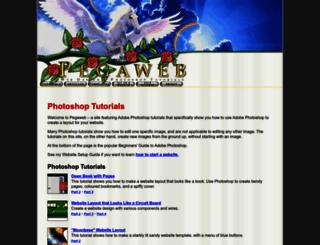 pegaweb.com screenshot