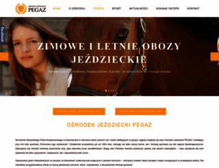pegazdziemiany.pl screenshot
