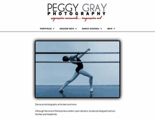 peggygrayphotography.com screenshot