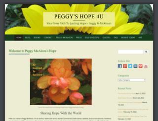 peggymcaloon.com screenshot