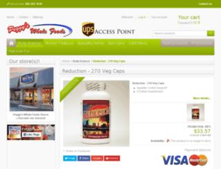 peggysreduction.com screenshot