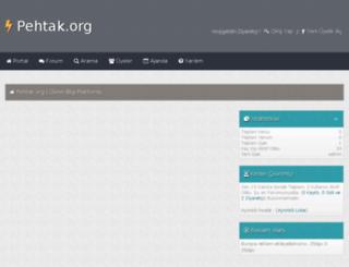 pehtak.org screenshot