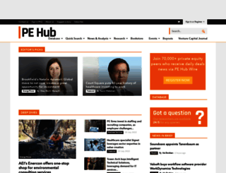 pehub.com screenshot