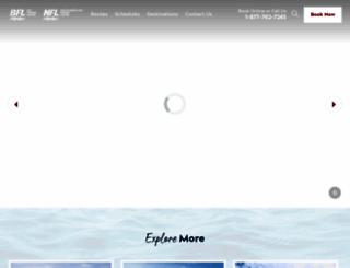 peiferry.com screenshot