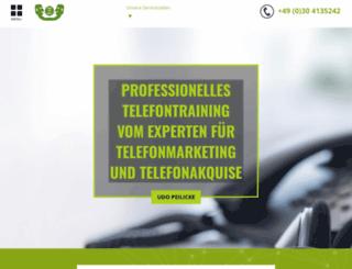 peilicke-telefontraining.de screenshot