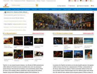 peintures-tableaux.com screenshot