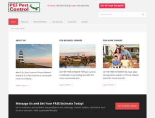 peipestcontrol.com screenshot