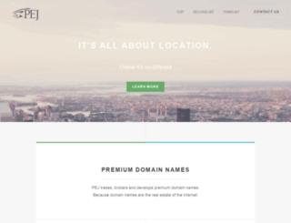 pej.com screenshot