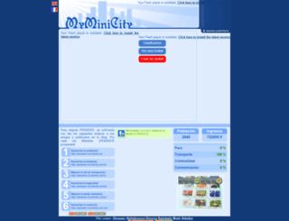 pekados.myminicity.es screenshot