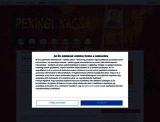 pekingikacsa.blog.hu screenshot
