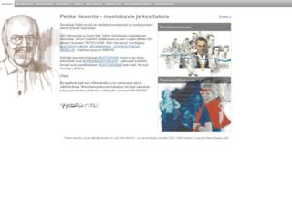 pekkahesanto.fi screenshot