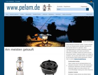 pelam.de screenshot