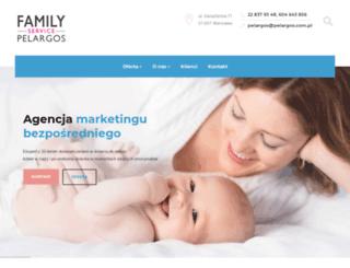 pelargos.com.pl screenshot
