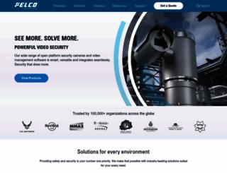 pelco.com screenshot