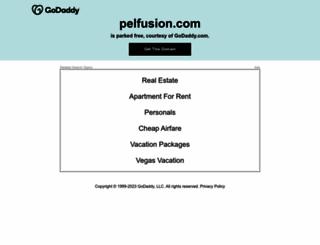 pelfusion.com screenshot