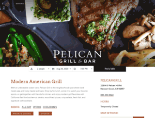 pelicangrillnb.com screenshot