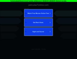 peliculas7online.com screenshot