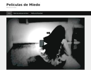 peliculasdemiedo.es screenshot
