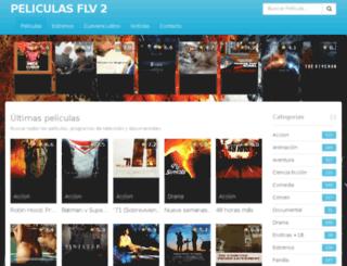 peliculasflv2.com screenshot