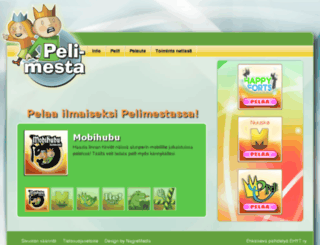 pelimesta.fi screenshot