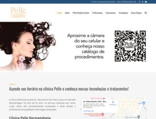pelle.com.br screenshot