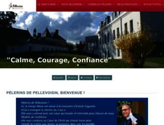 pellevoisin.net screenshot