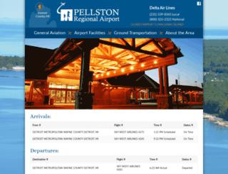 pellstonairport.com screenshot