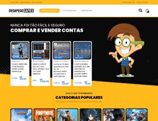 pelotaogames.com.br screenshot