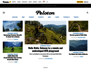 pelotonmagazine.com screenshot