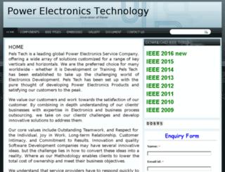 pelstech.com screenshot